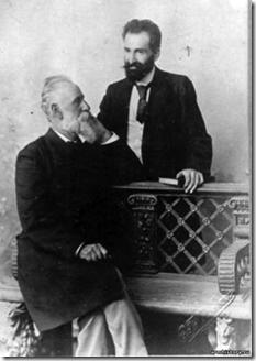 Ghazaros Aghayan and Hovhannes Toumanian