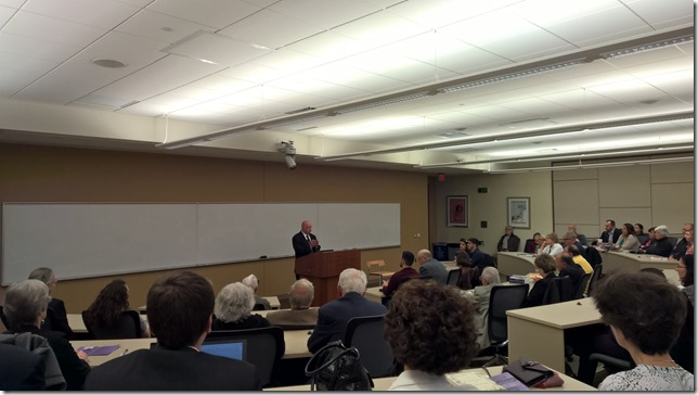 Prof. Richard Hovanissian speaks at Marquette University Law School