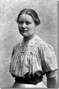 Maria Jacobsen in 1910